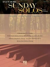 Even More Sunday Solos for Piano Sheet Music Preludes Offertories & Po 000312098