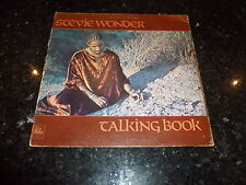 STEVIE WONDER - Talking Book - 1972 UK 10-track LP