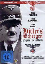DVD NEW/OVP-Hitler's Henchmen Hunt Never Alone-Directors Cut-Jose Ferrer