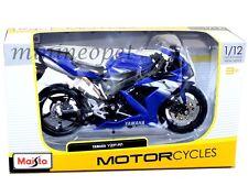 MAISTO 31102 YAMAHA YZF-R1 MOTORCYCLE BIKE 1/12 BLUE