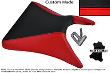 BLACK & RED CUSTOM 03-04 FITS KAWASAKI NINJA ZX6R FRONT RIDER SEAT COVER