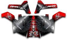 Polaris RZR 800 UTV Side x Side Graphics Decal Kit Wrap 2011 - 2014 Turbo Red