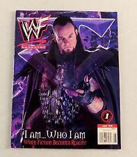 The Undertaker june 1999 Deadman Hardy Poster Wrestling Magazine Raw WWE WWF