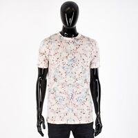 DIOR x SORAYAMA 790$ Silk & Cotton Tshirt In Rose Dior & Sorayama Print