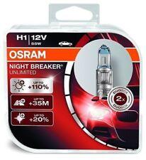 2x Osram Interrupteur de Nuit H1 H3 H4 H7 H8 H11 D1S D2S D3S 110-130 %25 Halogène