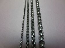 """7-36"""", 2/2.5/3/4/5/6 mm  SMOOTH BOX ROPE STAINLESS STEEL SILVER CHAIN NECKLACE"""