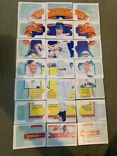 Donruss Individual puzzle pieces 1982 - 1991 FREE Shipping