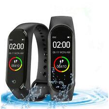 Bluetooth Smartwatch Fitness Armband Tracker Sportuhr Schrittzähler Wasserdicht