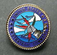 STRATEGIC AIR COMMAND USAF AIR FORCE LAPEL PIN BADGE 1 INCH