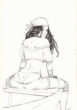 Grim Fairy Tales Mega Con Exclusive Cover - Red Riding Hood Sparrow by Ale Garza