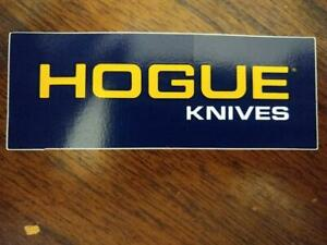 Hogue Knives Knife Decal Sticker - Free Shipping!!!