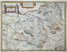 MERCATOR HONDIUS FRANKREICH BITURIGUM LE DUCHE DE BERRY BOURGES TAVERNIER 1631