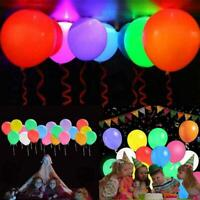 Balloons 48 Pack Light Up PERFECT PARTY Decoration Birthday Hot Kids Y2O3