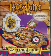 Harry Potter Casting Stones Starter Game Box Mattel Counted Complete 2001
