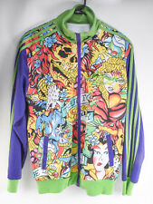Ed Hardy Christian Audigier Zipper Track Jacket Green Purple Tattoo Design Large