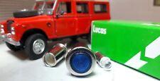 OEM Lucas Blue LED Illuminated Warning Light Leyland Marshall Tractor T4D3036