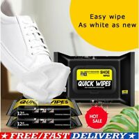 Travel Portable Sneaker Disposable Quick Cleaning Wet Wipes White Shoes Artifact