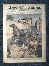 La Domenica del Corriere 21 Giugno 1931 Bergamo - Slovenia - Auguste Piccard