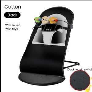 Baby Bouncer Chair with Cotton Cover Soft Bouncer with Music