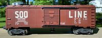 Lionel 3494-625 Soo Line Operating Boxcar from 1957-58 -- Original Postwar Issue