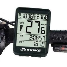 Wireless Cycling Bike Computer Bicycle Waterproof LED Speedometer Best R9V4