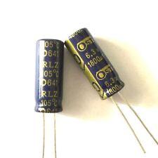 10PCS 6.3V 1800uF 6.3Volt 1800MFD Electrolytic Capacitor 8×20