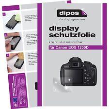 6x dipos Canon EOS 1200D Pellicola Prottetiva Transparente Proteggi Schermo