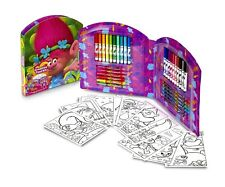 Trolls Creative Tool Coloring Kit by Crayola - Over 40 Pieces New