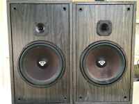 Cerwin Vega L-9 Home Stereo Speakers Vintage