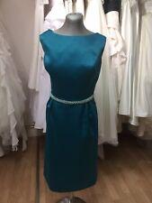 Designer Angel B Bridesmaid/ MOB/ Ball/ Prom/ Races/ Column Dress Size 18
