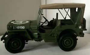 Danbury Mint WW II Jeep.