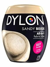 Dylon Machine Dye Pod, Sandy Beige, easy-to-use fabric colour for laundry, 350g