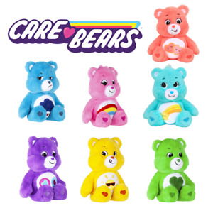 """Care Bears - 14"""" Cuddly Soft Plush Toys - Choose From 7 Designs"""