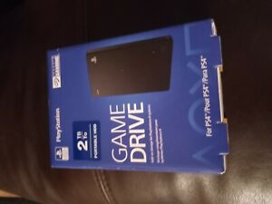 New Seagate PS4 Game Drive 2 TB External (STGD2000100) Hard Drive (E10011872)