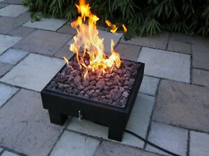 BrightStar Fires,VEGA portable outdoor patio Gas Fire Pit LPG or mains 18kw UK