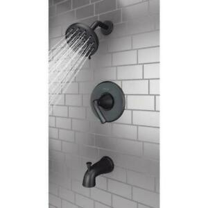 Pfister Ladera 1-Handle 3-Spray Tub&Shower Faucet in M. Black Valve Included New