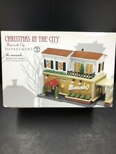 Dept 56 Christmas in the City the Macambo Music in the City #4020942 New