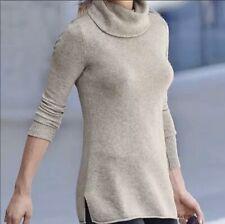Athleta Bedford Wool Cashmere Turtleneck/mock Neck Sweater, M Medium $198