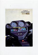 MOTO GUZZI 1000 SP 1978 depliant originale motorcycle brochure