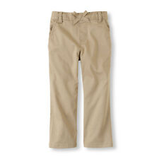 NEW! TCP Baby Girls Uniform Sash Pants 3T Pockets Cute Sesame Khaki $14.95 Gift