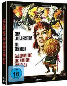 Salomon und die Königin von Saba [Blu-ray + DVD Limited Mediabook A /NEU/OVP]