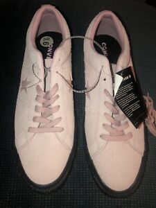 DS NEW Converse One Star Vintage Suede Low Top Light pink Rose Sz 9.5 Free Ship