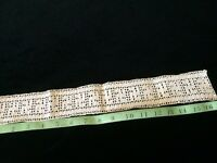 Antique Lace Sewing Crochet Edwardian Trim Edging Insert Design Remnant