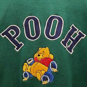 Vintage Disney Store Winnie-the-Pooh Sweater Sweatshirt Size Medium