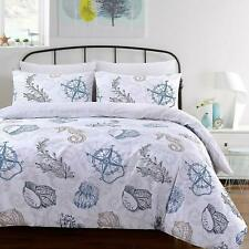 100% Cotton Marine Life Super King Size Bedding Set Duvet Cover With Pillowcases