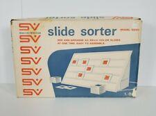 Vintage Smith-Victor Slide Sorter Model SS40 Holds Up To 40 35mm Slides
