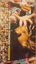 Madonna 2001 Drowned World Tour Taiwan Limited Promo Poster