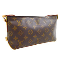 LOUIS VUITTON TROTTEUR CROSS BODY SHOULDER BAG AR0014 MONOGRAM M51240 30061