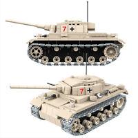 Technic Militär Panzerkampfwagen 3 Panzer 42056 42083 Blöcke Bausteine MOC 42110