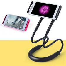 Universal Lazy Hanging Neck Mobile Phone Holder Mount Stand Desktop Bed Se @#wa